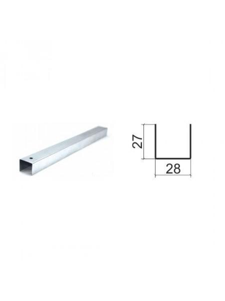 Профиль Направляющий ПН 27х28 0,55мм (3м)