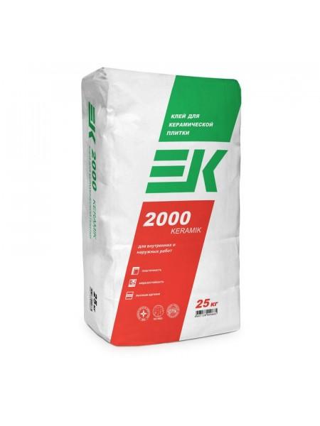 Плиточный клей ЕК 2000 25кг2