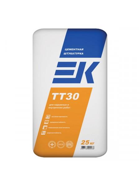 Цементная штукатурка ЕК ТТ 30 (25кг)